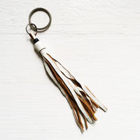 Lather Fringe Keyring