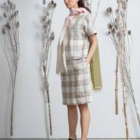 Kelpman Textile : Linen check dress