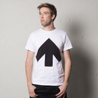 Reet Aus_ Up-Shirt  Unisex Black and White ( Tシャツ_ユニセックス)