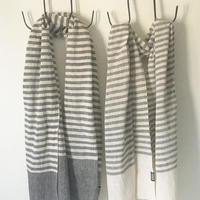 TIKAU_Scarf Stripe Organic Cotton_ (コットンスカーフ)