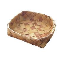 Svensk Hemslöjd_Handmade White Birch  Flat Basket