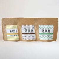 薬膳茶(3種セット)  柚子・シナモン・緑茶  (メール便)