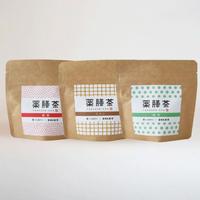 薬膳茶(3種セット)  薔薇・緑茶・ウコン(コンパクト便)