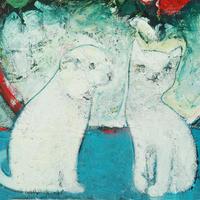 usF6-070619 可愛い子猫と子犬