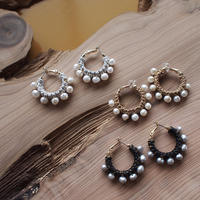 【CHUNKY HOOP EARRINGS】_CLASSIC