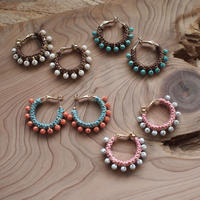 【CHUNKY HOOP EARRINGS】_COLOR
