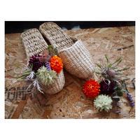 【Handicraft KIT】お花のスリッパキット_Botanical