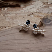 【OLD CITY CRYSTAL】_Mini Earrings
