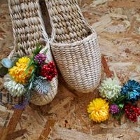 【完成品】お花のスリッパキット_Meadow