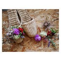 【Handicraft KIT】お花のスリッパキット_Lavender park
