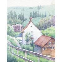 森の教会(スイス・リギ山)