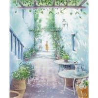 こもれびの中庭(ギリシャ・ミコノス)