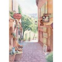 「村の幸福」(南仏・ボムブレミモザ)