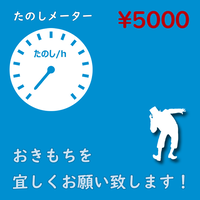 たのしメーター5000!【なげせん用音声ファイル】