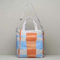 メッセンジャーバッグ/Orange&Blue