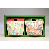 煎茶ギフトセット(ほうじ茶・川根煎茶)