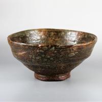 丸子窯 柿の蔕茶碗
