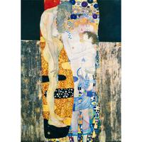 グスタフ・クリムト*三世/The Three Age*59.4x84cm (A1)*キャンバスアート(フレーム無し)*Gustav Klimt