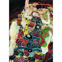 グスタフ・クリムト*処女/The Virgin*59.4x84cm (A1)*キャンバスアート(フレーム無し)*Gustav Klimt