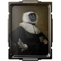 イブライド●レイチェル・コンヴァー●長方形のトレイ「Le Singe」PFGPSING●Galerie de Portraits