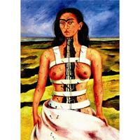 フリーダ・カーロ*壊れた柱/The Broken Column*59.4x84cm (A1)*キャンバスアート(フレーム無し)*Frida Kahlo