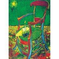 ヴァンゴッホ*ゴーギャンのアームチェア*59.4x84cm (A1)*キャンバスアート(フレーム無し)*Vincent van Gogh