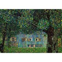 グスタフ・クリムト*ブフベルクの農家/ Farm House in Buchberg*59.4x84cm (A1)*キャンバスアート(フレーム無し)*Gustav Klimt