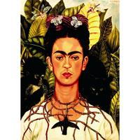 フリーダ・カーロ*自画像2・Self-portrait*59.4x84cm (A1)*キャンバスアート(フレーム無し)*Frida Kahlo  のコピー