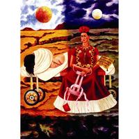 フリーダ・カーロ*希望の木/Tree of the hope*59.4x84cm (A1)*キャンバスアート(フレーム無し)*Frida Kahlo