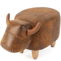 RED CANDY●BAL-26935●雄牛の椅子●ブルフットスツール●Benton the Bull Footstool