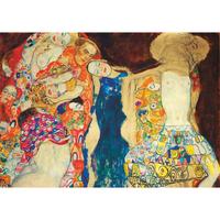 グスタフ・クリムト*ザ・バード/The Bride*59.4x84cm (A1)*キャンバスアート(フレーム無し)*Gustav Klimt