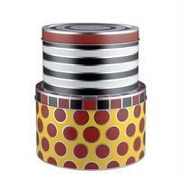 アレッシィ●ALESSI MW31S2●サーカスのブリキの箱2個セット●Circus tin boxes, set of 2