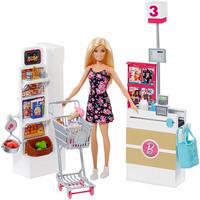 バービー*MATTEL BARBIE  FRP01*バービーのスーパーマーケットとドール 人形 *プレイセット*マテル社