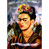 フリーダ・カーロ*自画像・Self-portrait*59.4x84cm (A1)*キャンバスアート(フレーム無し)*Frida Kahlo