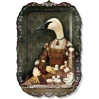 イブライド●レイチェル・コンヴァー●長方形のトレイ「ビアンカ」PFGPBIAN●Galerie de Portraits