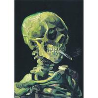 ヴァンゴッホ*スケルトン/Skeleton*59.4x84cm (A1)*キャンバスアート(フレーム無し)*Vincent van Gogh