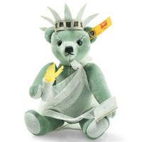 シュタイフ*ニューヨークテディ (自由の女神)*Great Escapes New York Teddybär *STEIFF 026874