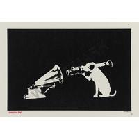 """バンクシー *HMV ストリートアート*89 x 61 cm (35""""x 24"""")*キャンバスアート(フレーム無し)*BANKSY"""