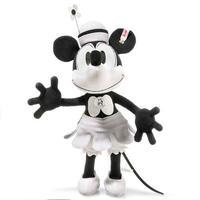 シュタイフ*ミニーマウス*ディズニー蒸気船ウィリー  Disney Steamboat Willie*STEIFF 354649