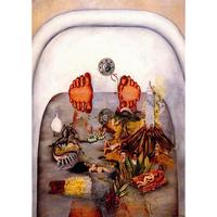 フリーダ・カーロ*水がくれたもの*59.4x84cm (A1)*キャンバスアート(フレーム無し)*Frida Kahlo