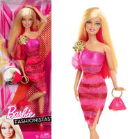 バービー*BARBIE  X7868 *ファッショニスタ Barbie Doll - Hot Pink Dress