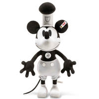 シュタイフ*ミッキーマウス*ディズニー蒸気船ウィリー  Disney Steamboat Willie*STEIFF 354458
