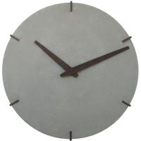 デュオ デザイン◆Duo Design◆Concrete Clock 2515◆シンプル 掛け時計 (グレー)