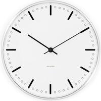 ローゼンダール◆アルネ・ヤコブセン◆CITY HALL・ ルードブレ市庁舎 掛け時計 (16㎝)◆Arne Jacobsen