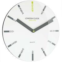 ロンドンクロック◆LONDON CLOCK 24416◆デザインウォールクロック(英数)◆クォーツムーブメント