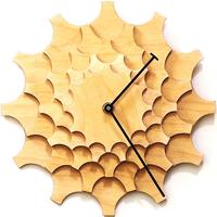 ARDEOLA◆ARD001.01.001◆歯車の壁時計・デザイン掛け時計 (ナチュラル)◆Cogwheel Wall Clock  のコピー