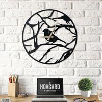 Finch II ◆フィンチIIメタルウォールクロック◆鳥の掛け時計(鳥の鳴き声)◆Hoagard