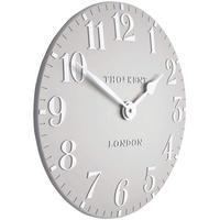 トーマスケント◆THOMAS KENT B07W96KQK7◆掛け時計◆アラビア時計ダブグレー◆直径30㎝