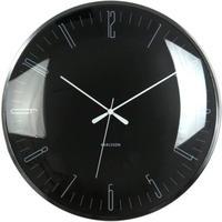 カールソン◆KARLSSON  KA5623BK◆ドーム型 掛け時計(黒)◆Dragonfly Wall Clock