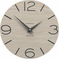 CALLEADESIGN◆Breeze Oak◆WANDUHR SMILE  スマイル掛け時計 (ブリーズオーク)◆トリエステ